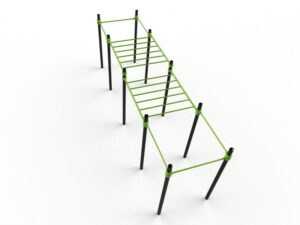Double monkeybars met pull-up bars Image